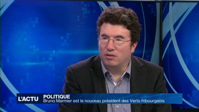 Bruno Marmier à la tête des Verts fribourgeois