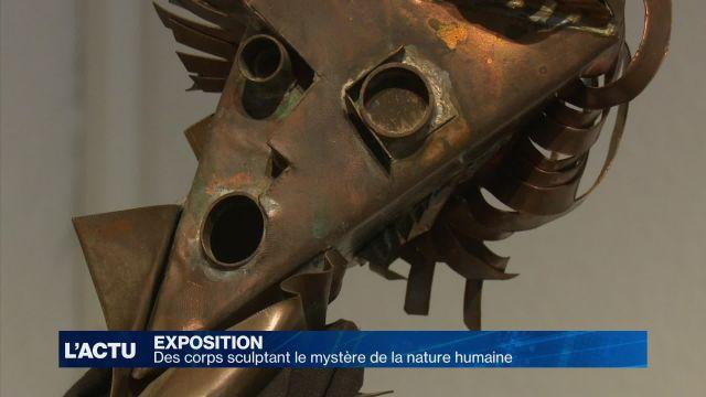 Le mystère de la nature humaine en sculpture