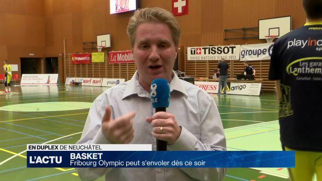 Fribourg Olympic et Union Neuchâtel se retrouvent