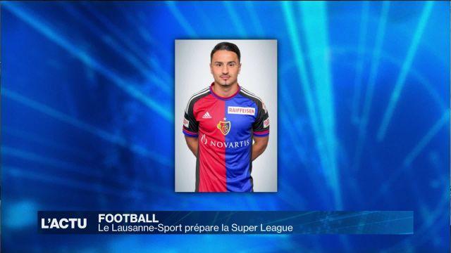 Le Lausanne-Sport se renforce pour la Super League