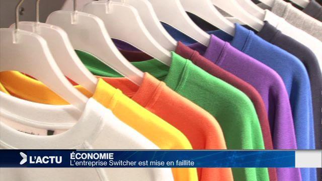 L'entreprise de textile Switcher est mise en faillite