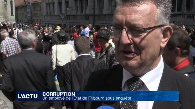 Un employé de l'Etat de Fribourg sous enquête