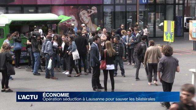 Opération séduction à Lausanne pour sauver les bilatérales