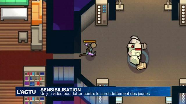 Un jeu vidéo pour contrer le surendettement des jeunes