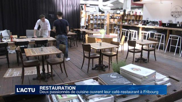 Deux passionnés ouvrent leur restaurant à Fribourg