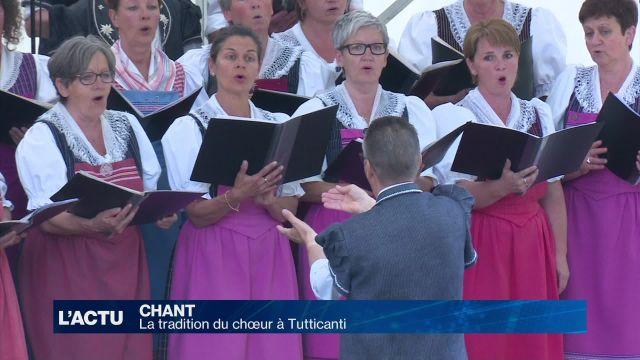 La tradition du choeur à Tutti Canti