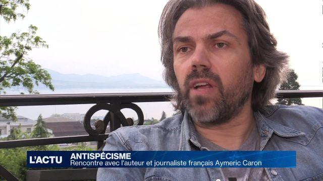 Rencontre avec le journaliste et auteur Aymeric Caron