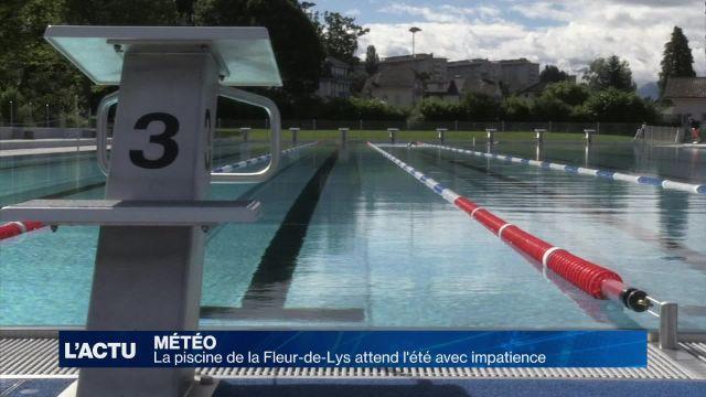 La piscine de la Fleur-de-Lys attend l'été avec impatience