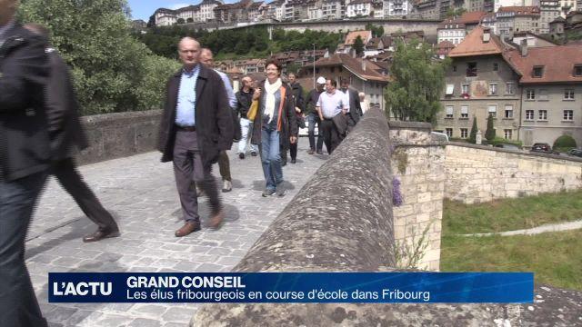 Fribourg: le Grand Conseil en vadrouille