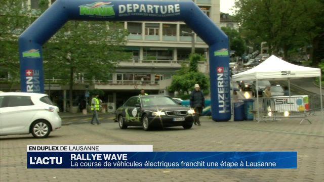 Le rallye WAVE franchit une étape à Lausanne