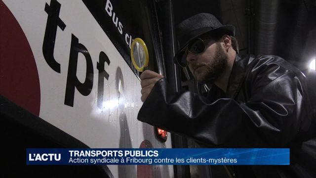 Transports: les clients-mystères sous la loupe syndicale