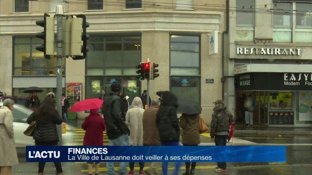 La Ville de Lausanne doit veiller à ses dépenses