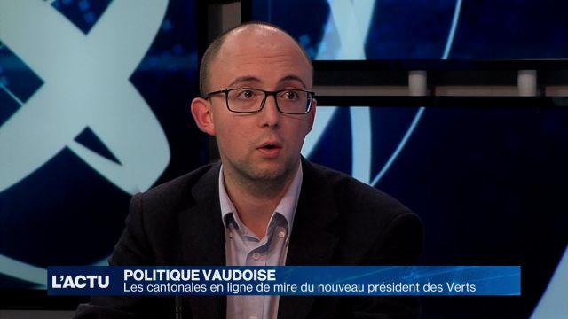 Les cantonales en ligne de mire du président des Verts