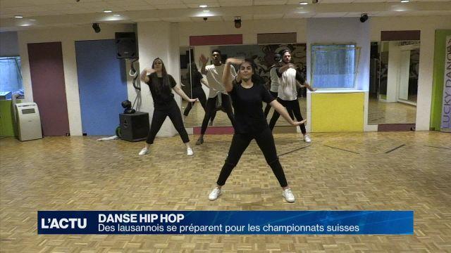 Les danseurs lausannois se préparent pour les championnats