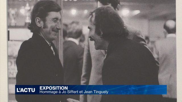 Hommage à Jo Siffert et Jean Tinguely