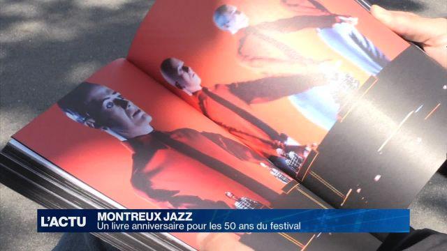 50 ans du Montreux Jazz retracés dans un livre anniversaire