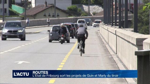 Routes: Fribourg dépoussière deux projets à Guin et Marly