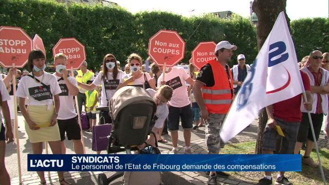 Le personnel de l'Etat de Fribourg demande des compensations