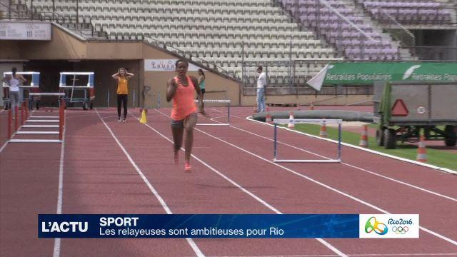 Les relayeuses suisses sont ambitieuses pour Rio