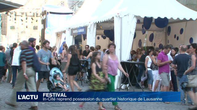 Un festival s'installe dans le cœur historique de Lausanne