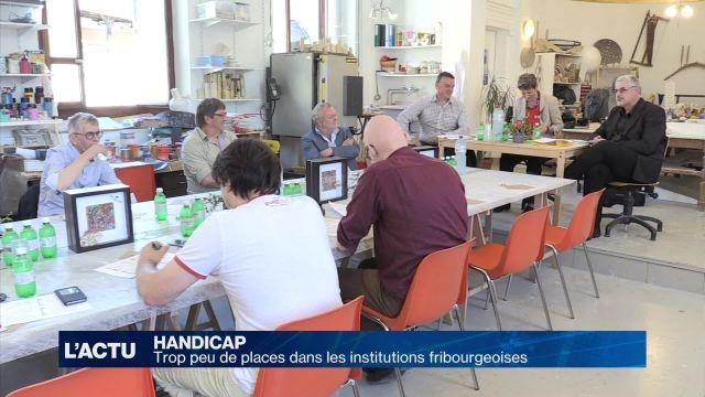 Handicap: manque de places à Fribourg selon les institutions