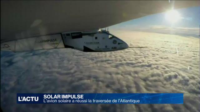 Solar Impulse réussit sa traversée de l'Atlantique