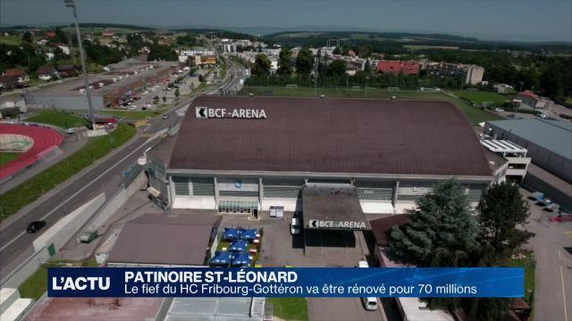 Le futur de la patinoire St-Léonard enfin dévoilé