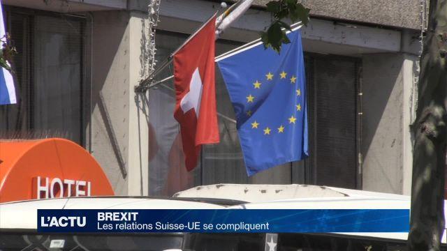 La Suisse appréhende les conséquences du Brexit
