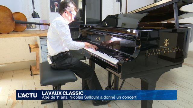 A 11 ans, il joue déjà Beethoven, Bach et Chopin