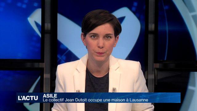 Le collectif Jean Dutoit occupe une maison à Lausanne