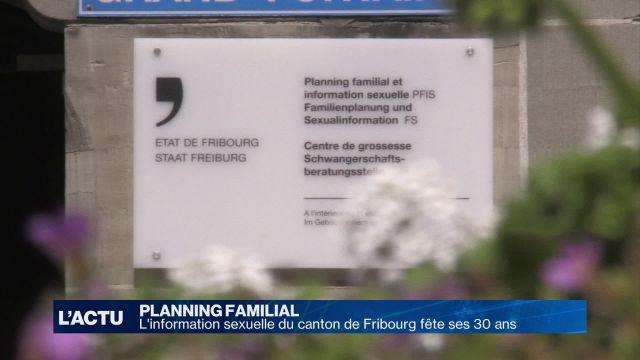 L'information sexuelle du canton de Fribourg fête ses 30 ans