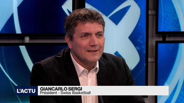 Giancarlo Sergi réélu président de Swiss Basketball
