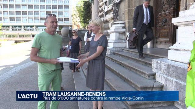 MyFlon récolte 6'619 signatures contre la rampe Vigie-Gonin