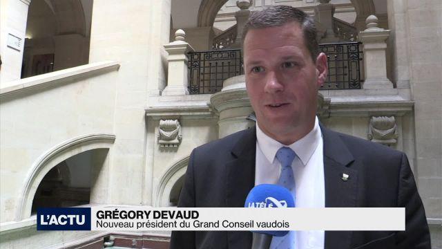 Le Grand Conseil vaudois a élu son nouveau président