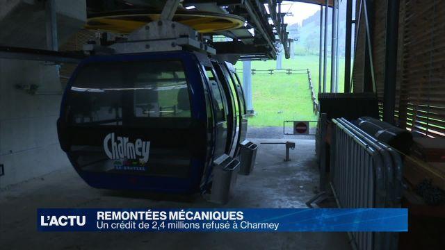 2,4 millions refusés pour les télécabines de Charmey