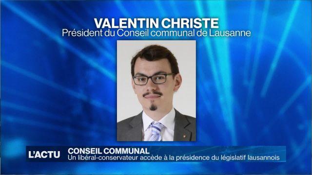 Un dissident accède à la présidence du législatif lausannois