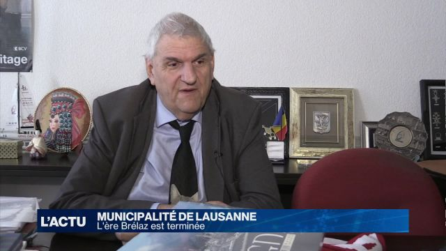 Le syndic Daniel Brélaz laisse son siège après 15 ans