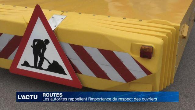 Le respect des ouvriers de la route reste essentiel