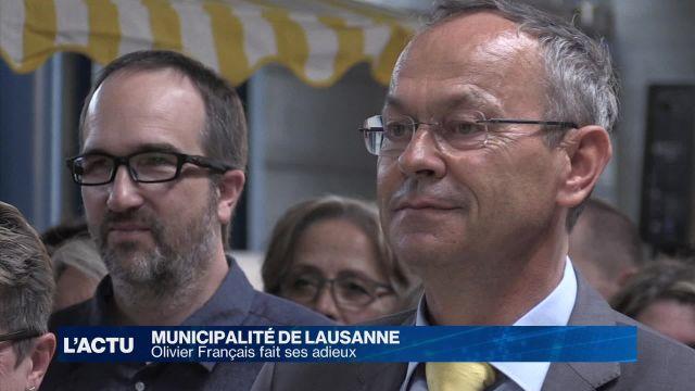 Olivier Français fait ses adieux à la Municipalité