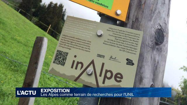 Les Alpes comme terrain de recherches pour l'UNIL