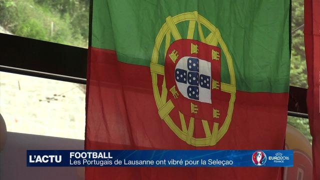Les Portugais de Lausanne ont vibré pour la Seleçao