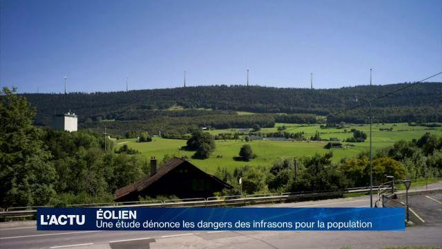 Une étude dénonce les dangers des éoliennes
