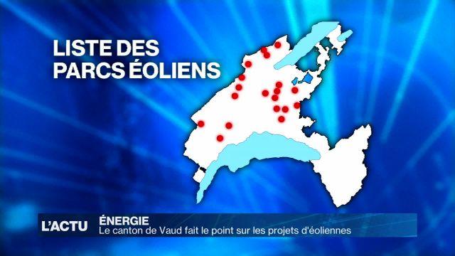 L'éolien se précise dans le canton de Vaud