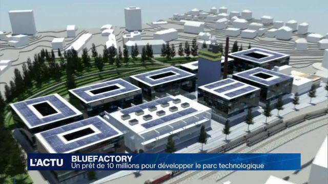 Bluefactory : soutien financier de la ville et du canton