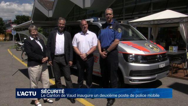 Un deuxième poste mobile de gendarmerie a été inauguré
