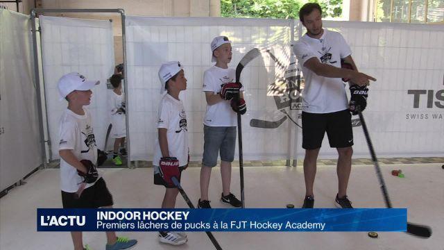 Premiers lâcher de pucks pour la FJT Hockey Academy
