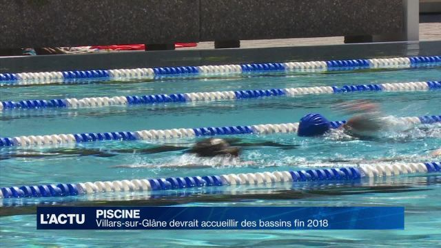 Villars-sur-Glâne devrait accueillir une piscine dès 2018