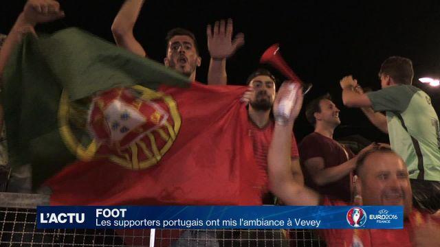 Retour sur la finale de l'Euro dans la fan zone de Vevey