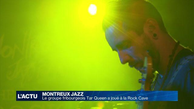 En backstage avec Tar Queen au Montreux Jazz