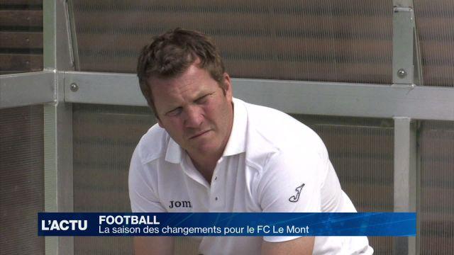 La saison des changements pour le FC Le Mont